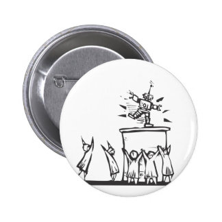 Techno-Worship Pinback Buttons