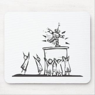 Techno-Worship Mouse Pad