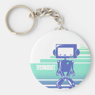 Technobot Keychain