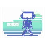 Technobot Postcard