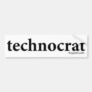 technocrat bumper sticker