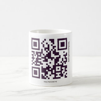 Technoculture's QR Mug (with Logo)