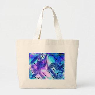 Technological Tempest Jumbo Tote Bag