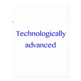 technologically advanced postcard
