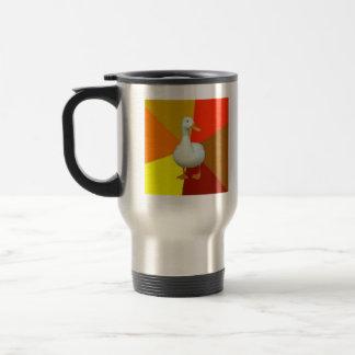 Technologically Impaired Duck Advice Animal Meme 15 Oz Stainless Steel Travel Mug