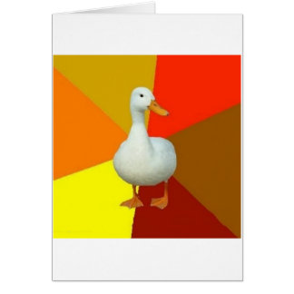 Technologically Impaired Duck Advice Animal Meme Card