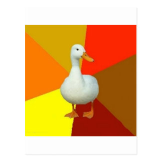 Technologically Impaired Duck Advice Animal Meme Postcard