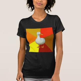 Technologically Impaired Duck Advice Animal Meme T-Shirt