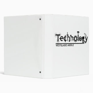 technology 3 ring binder