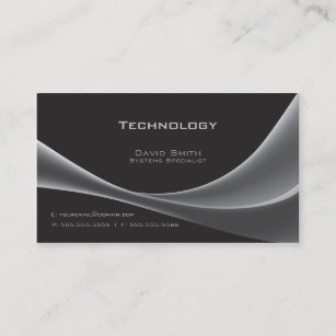 Technology business cards templates zazzle technology business card colourmoves