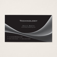 Technology Business Card at Zazzle