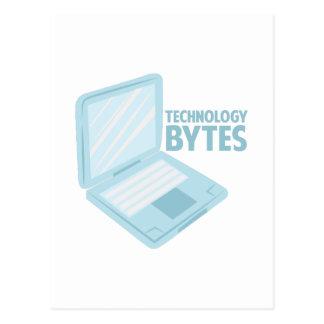 Technology Bytes Postcard