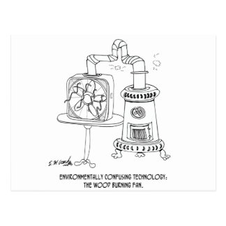 Technology Cartoon 7998 Postcard