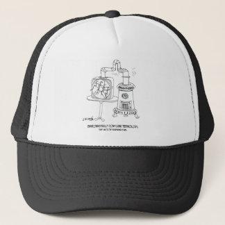 Technology Cartoon 7998 Trucker Hat