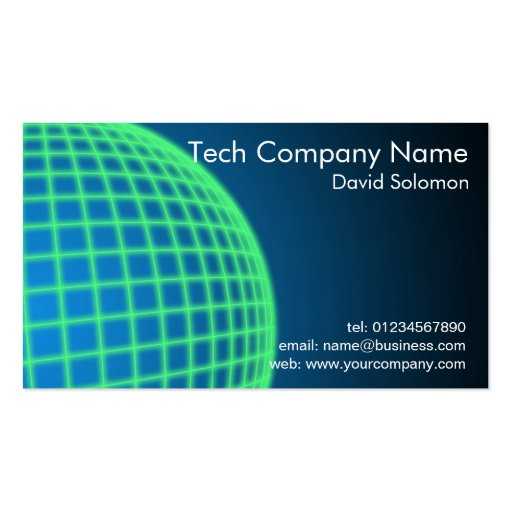 Technology Company Business Business Cards