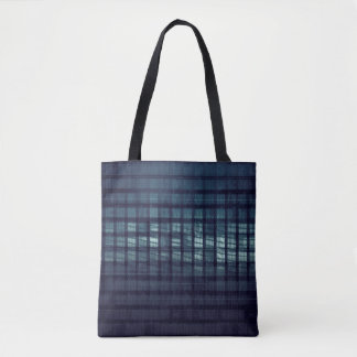 Technology Concept and Digital Data Business Tote Bag