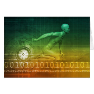Technology Evolution with Man Evolving with System Card