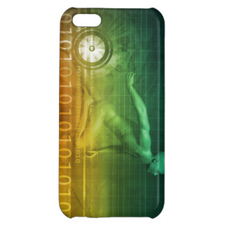 Technology Evolution with Man Evolving with System Cover For iPhone 5C