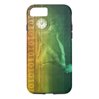 Technology Evolution with Man Evolving with System iPhone 7 Case