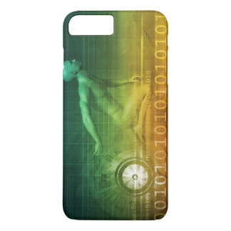 Technology Evolution with Man Evolving with System iPhone 8 Plus/7 Plus Case