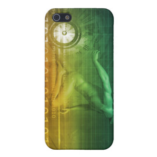 Technology Evolution with Man Evolving with System iPhone SE/5/5s Cover