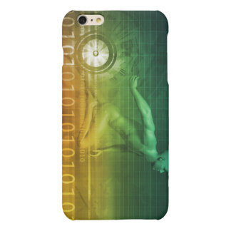 Technology Evolution with Man Evolving with System Matte iPhone 6 Plus Case