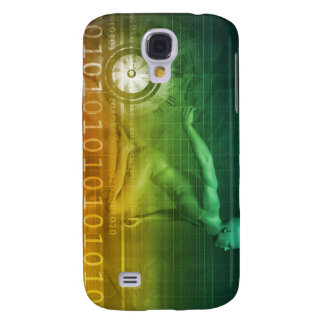 Technology Evolution with Man Evolving with System Samsung Galaxy S4 Case