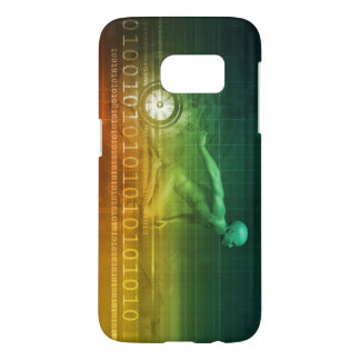 Technology Evolution with Man Evolving with System Samsung Galaxy S7 Case