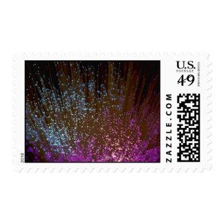 Technology, fiber-optic strands stamp