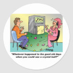 Technology Giftware / Computer User Gifts Classic Round Sticker