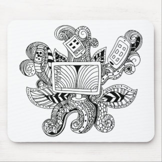 Technology Icon Mouse Pad