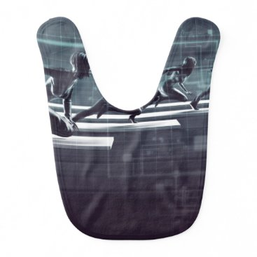 Professional Business Technology Innovation and Empowered Business Baby Bib