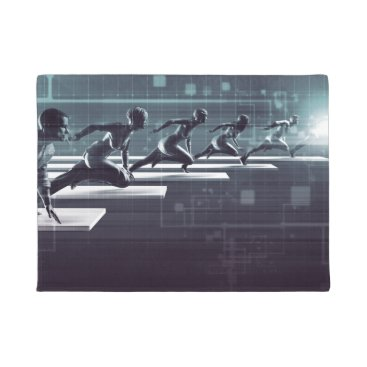 Professional Business Technology Innovation and Empowered Business Doormat