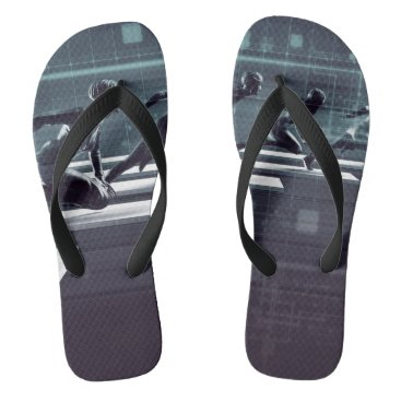 Professional Business Technology Innovation and Empowered Business Flip Flops