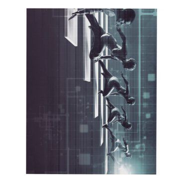 Professional Business Technology Innovation and Empowered Business Panel Wall Art