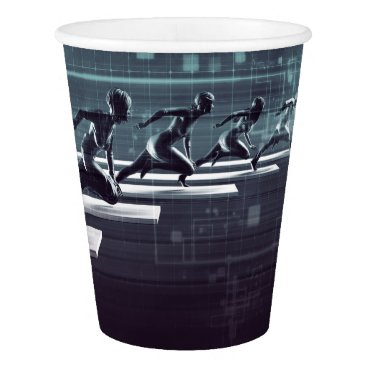 Professional Business Technology Innovation and Empowered Business Paper Cup