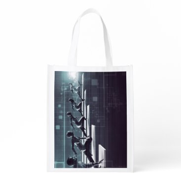 Professional Business Technology Innovation and Empowered Business Reusable Grocery Bag