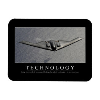 Technology: Inspirational Quote Magnet