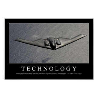Technology: Inspirational Quote Poster