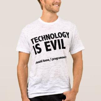 Technology is evil T-Shirt
