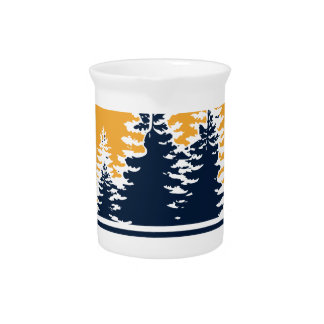 Technology Meets Nature Beverage Pitcher