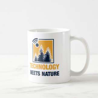 Technology Meets Nature Coffee Mug