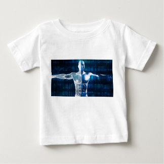 Technology Network Over the Internet and Wireless Baby T-Shirt