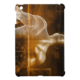 Technology Network with Futuristic Graph Chart Case For The iPad Mini