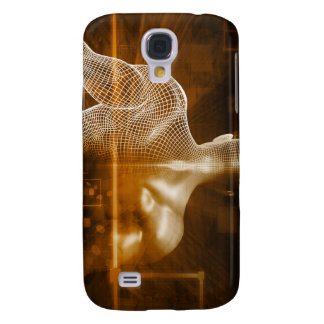 Technology Network with Futuristic Graph Chart Samsung S4 Case