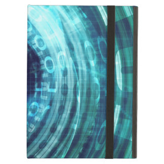 Technology Portal with Digital Circle Access iPad Air Cases