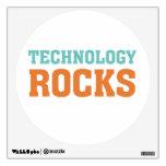 Technology Rocks Wall Decal