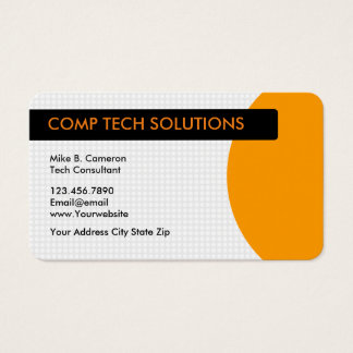 Tech support business card arts arts technology services business card computer technical support office products supplies zazzle colourmoves