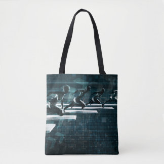 Technology Solutions Empowering People Tote Bag