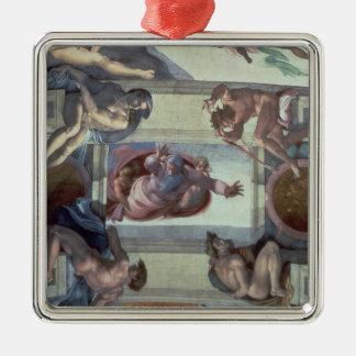 Techo 2 de la capilla de Sistine Ornamento De Navidad